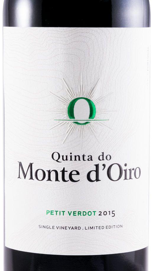 2015 Quinta do Monte d'Oiro Petit Verdot tinto