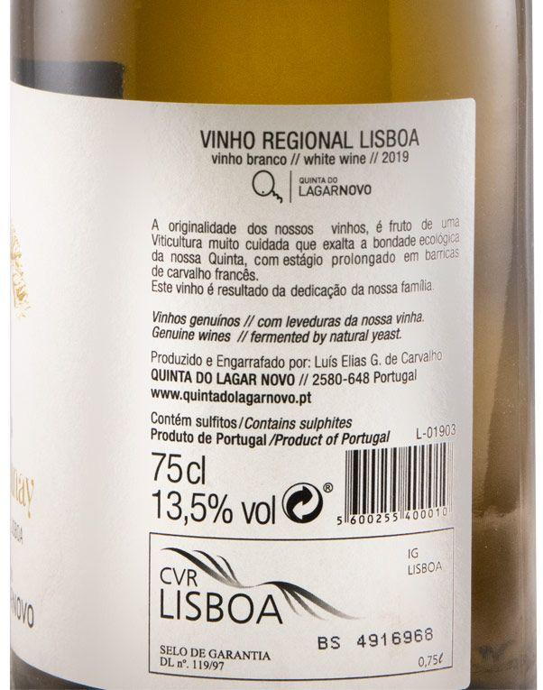2019 Quinta do Lagar Novo Chardonnay Reserva branco