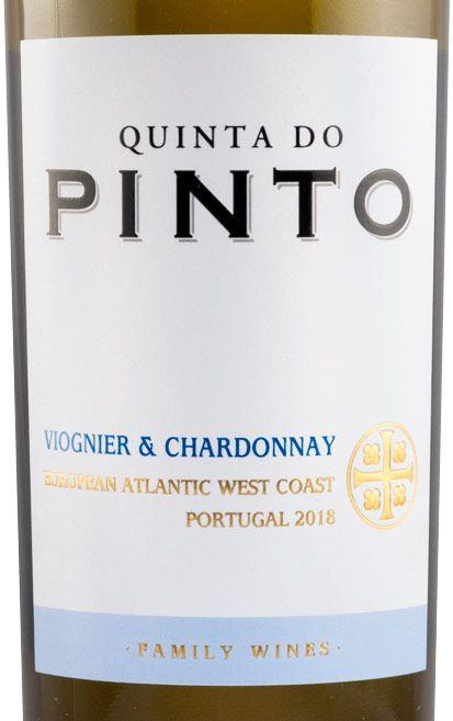 2018 Quinta do Pinto Viognier e Chardonnay white