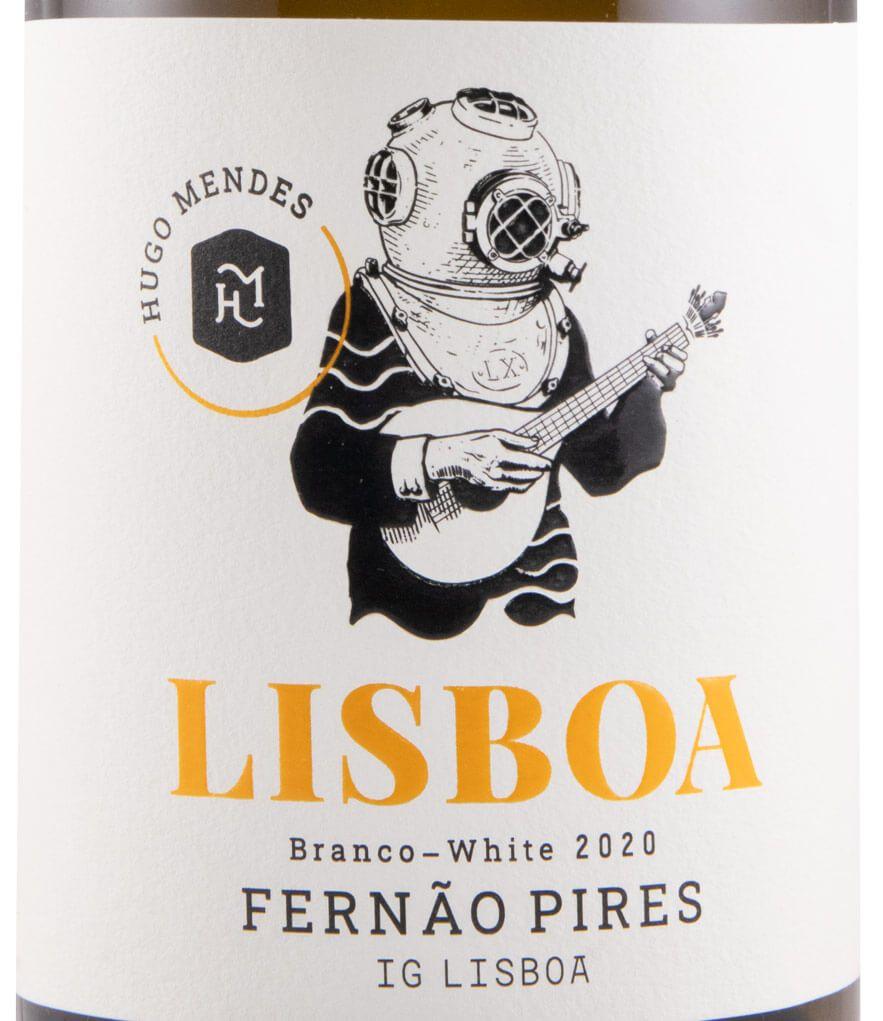 2020 Hugo Mendes Lisboa Fernão Pires branco