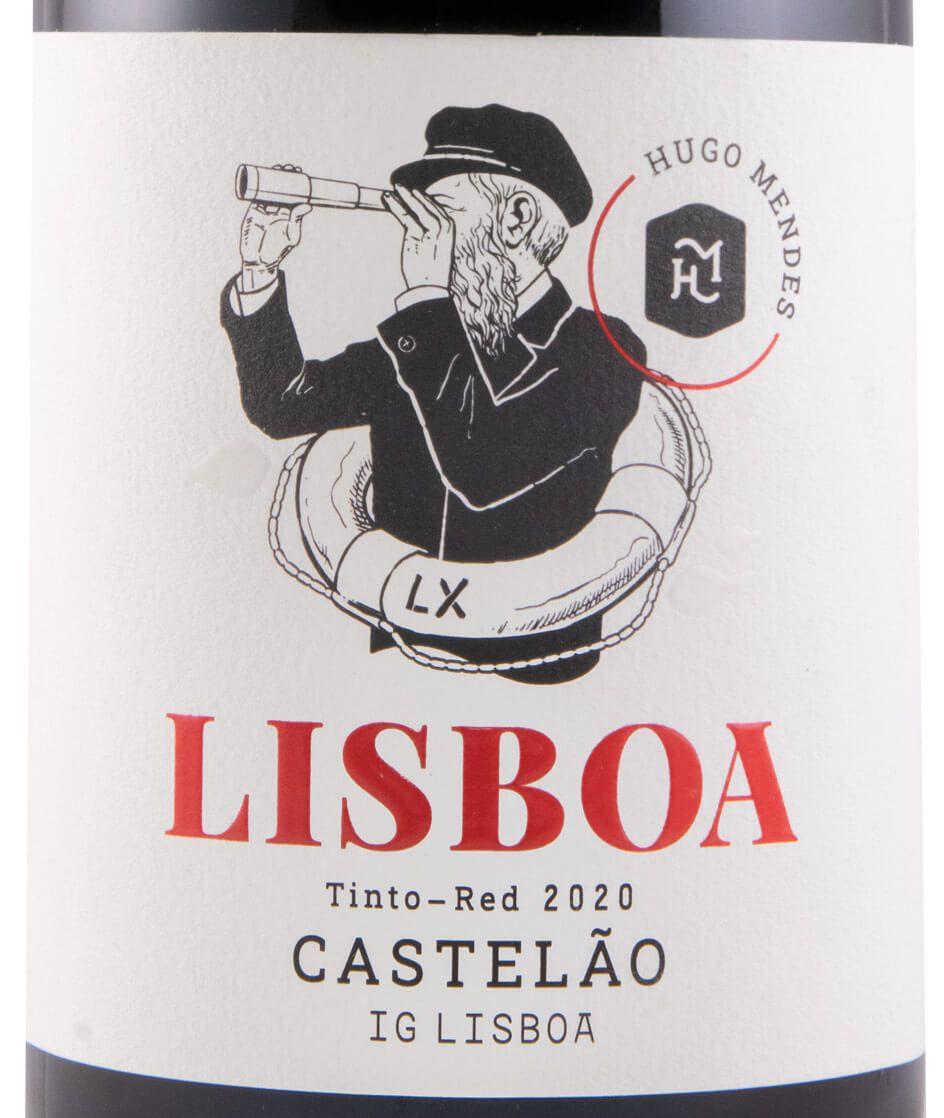 2020 Hugo Mendes Lisboa Castelão tinto