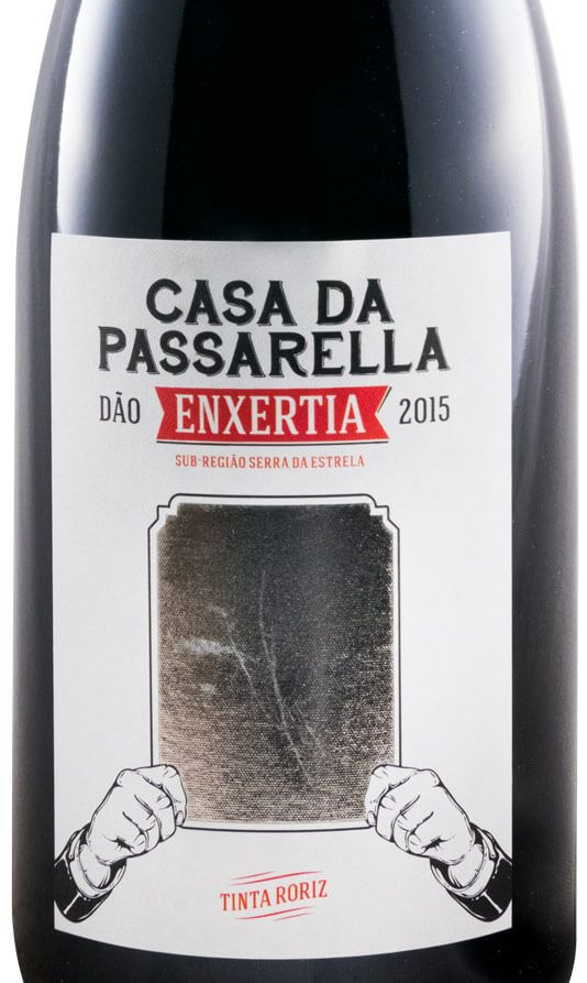 2015 Casa da Passarella Enxertia Roriz red