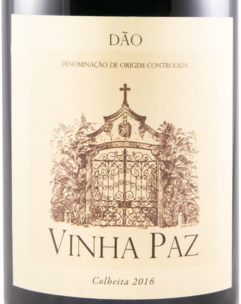 2016 Vinha Paz красное 1,5 л