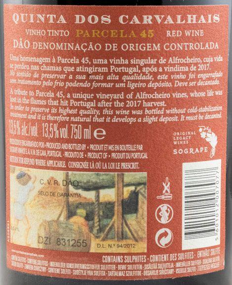 2017 Quinta dos Carvalhais Parcela 45 red