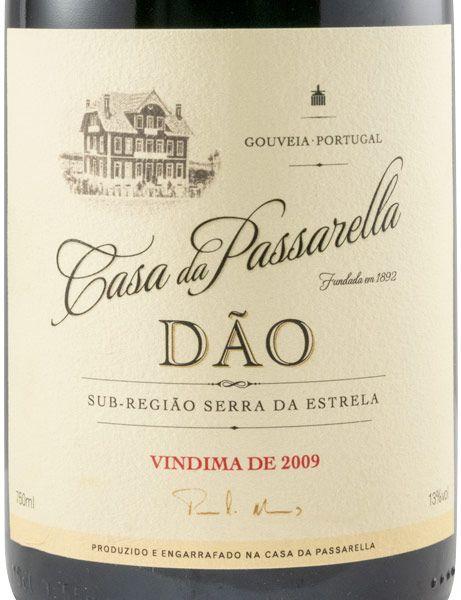 2009 Casa da Passarella Vindima red