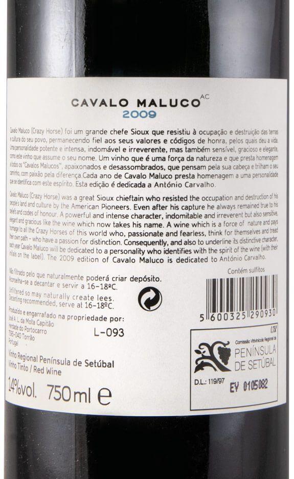2009 Cavalo Maluco tinto