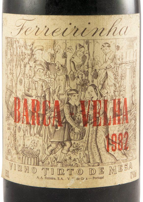 1982 Barca Velha tinto