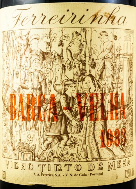 1983 Barca Velha tinto