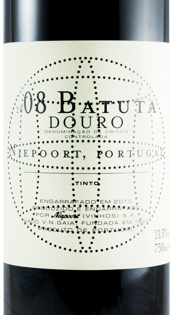 2008 Niepoort Batuta red