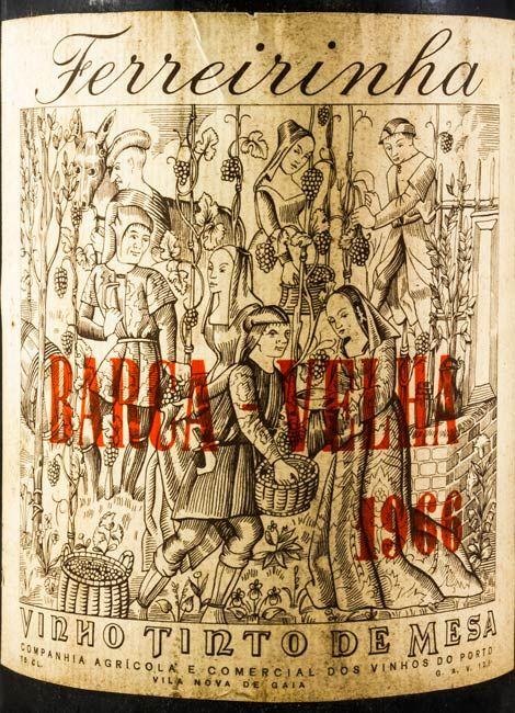 1966 Barca Velha tinto