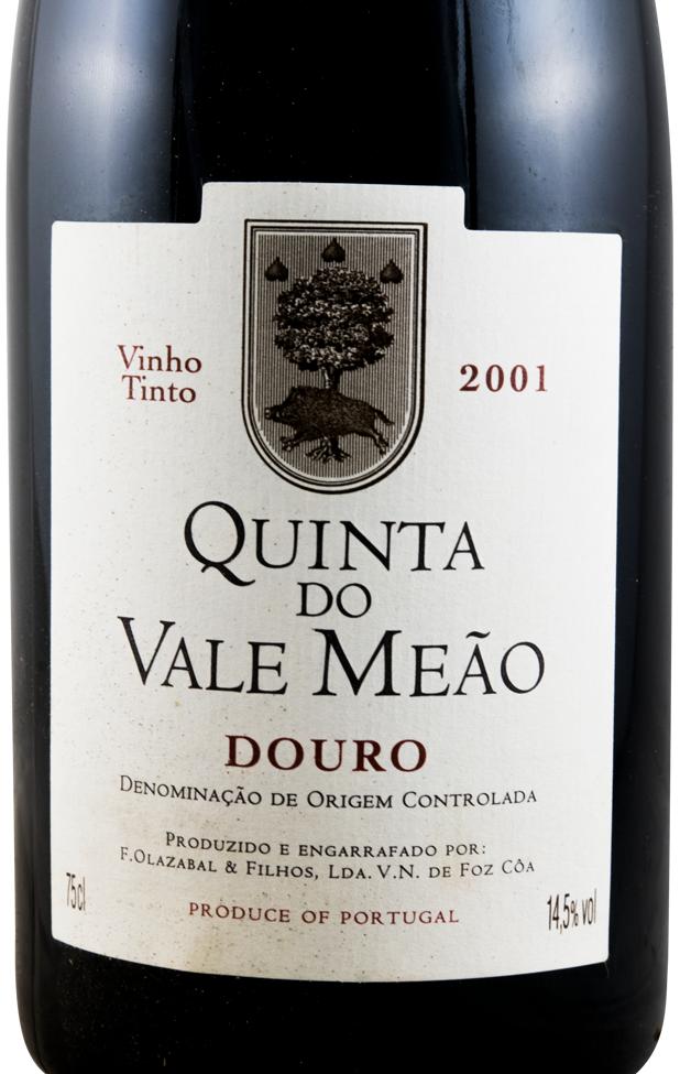 2001 Quinta do Vale Meão red