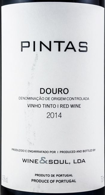 2014 Wine & Soul Pintas tinto
