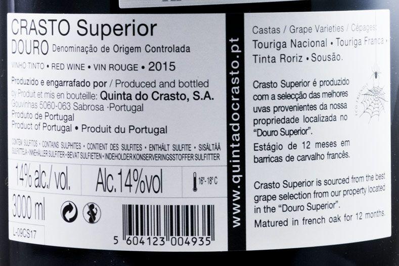 2015 Crasto Superior tinto 3L