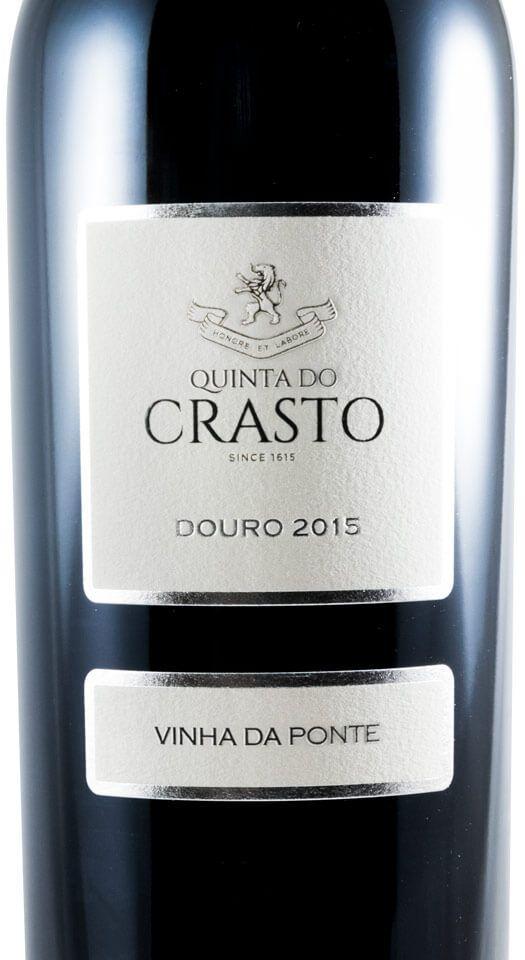 2015 Quinta do Crasto Vinha da Ponte red