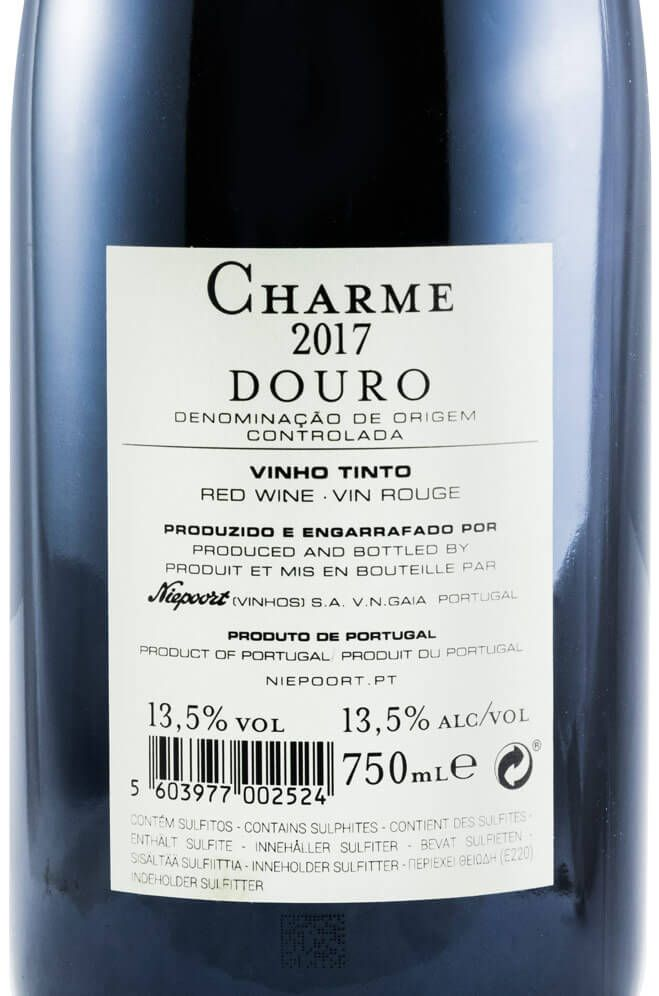 2017 Niepoort Charme tinto