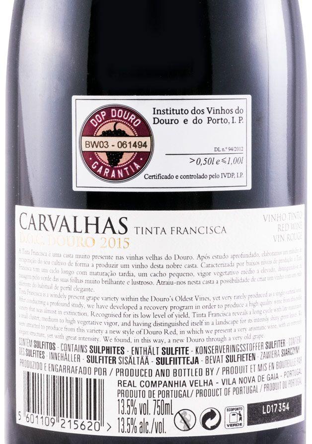 2015 Carvalhas Tinta Francisca red