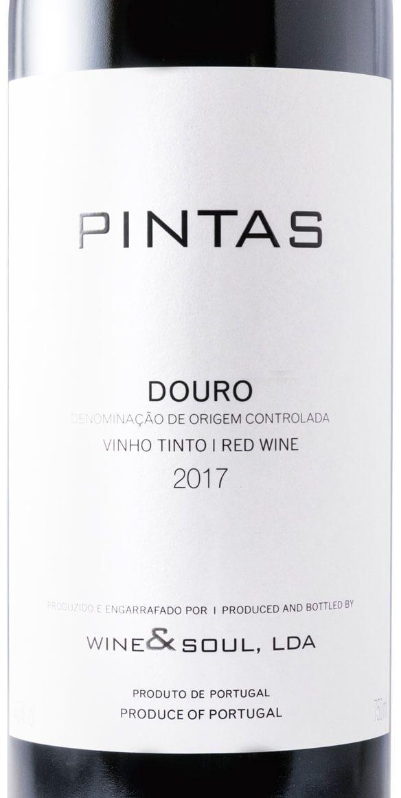 ワイン&ソール・ピンタス・赤 2017年