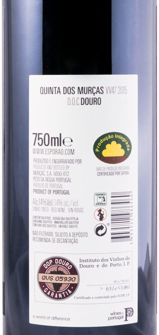 2015 Quinta dos Murças VV47 tinto