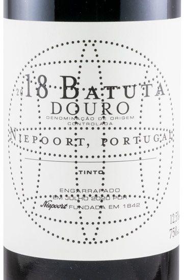 2018 Niepoort Batuta red