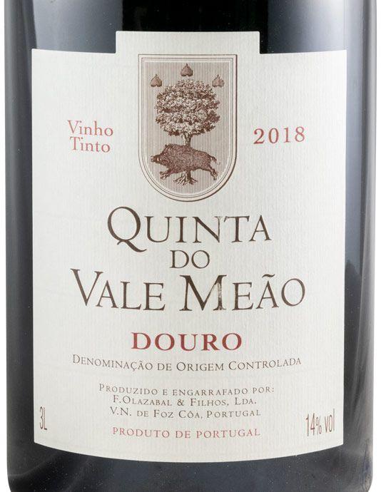 2018 Quinta do Vale Meão tinto 3L