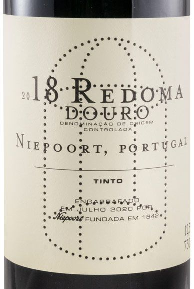 2018 Niepoort Redoma red