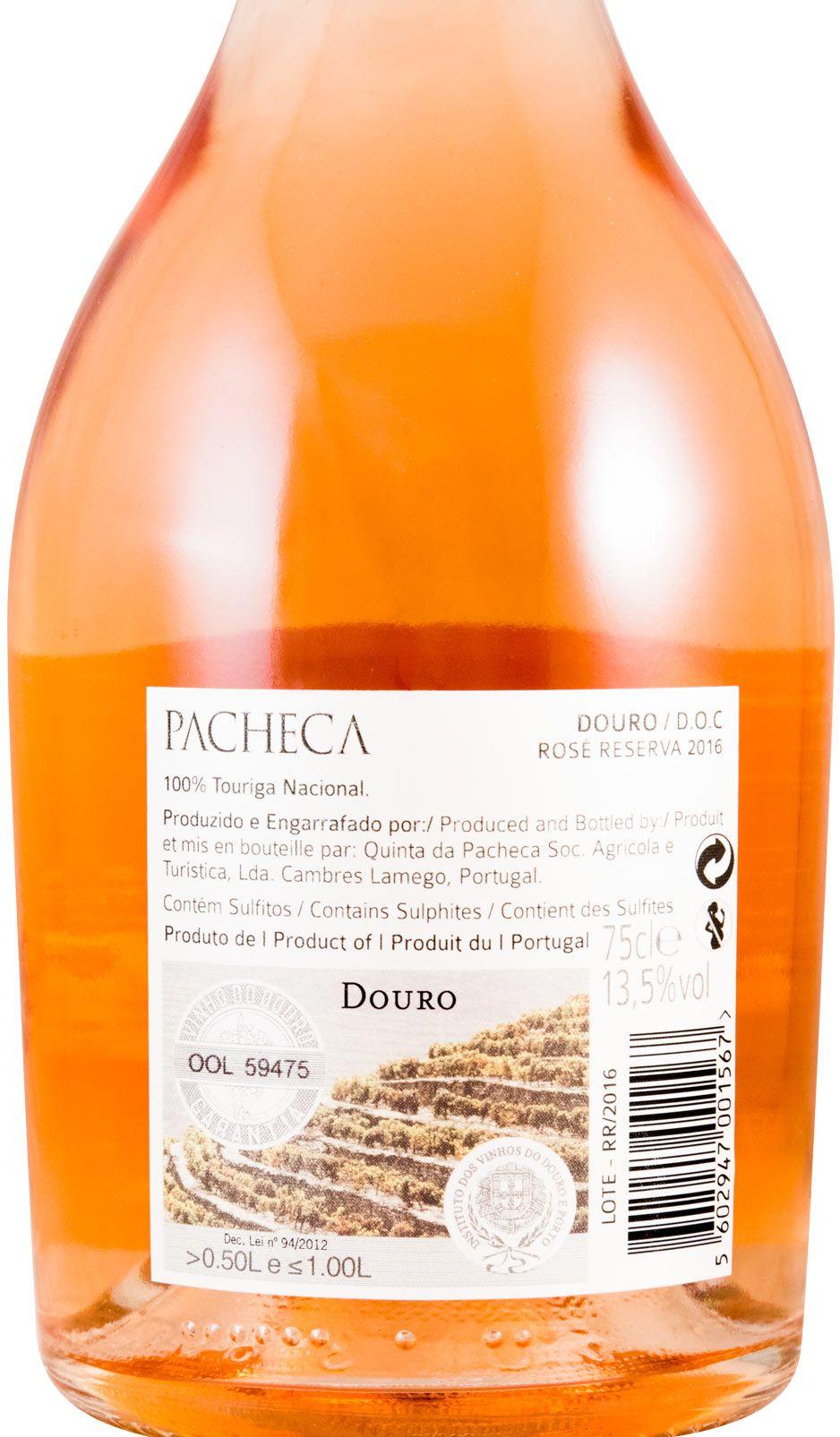 2016 Quinta da Pacheca Reserva rosé