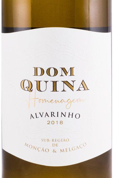 2018 Dom Quina Alvarinho branco