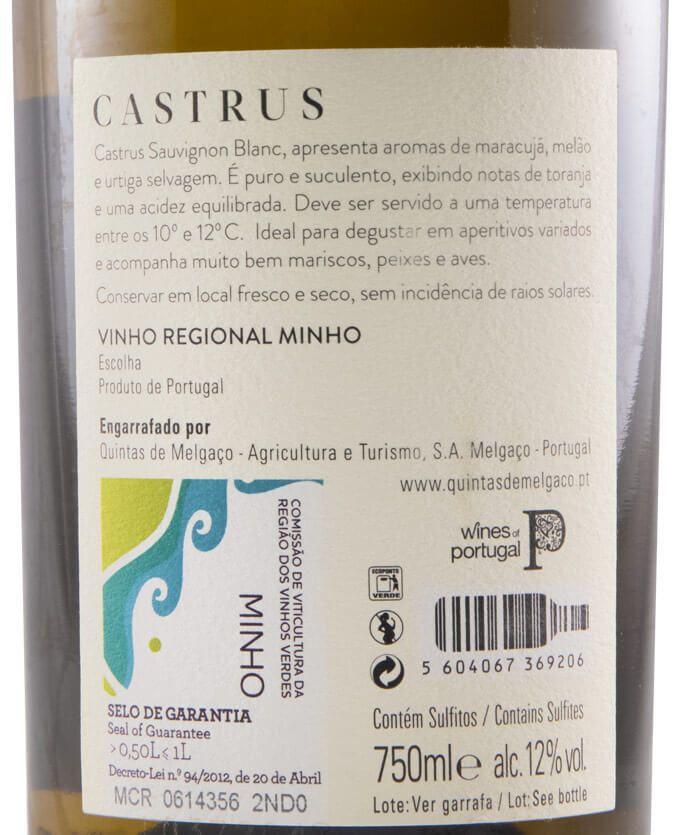 2019 Quintas de Melgaço QM Castrus Sauvignon Blanc branco