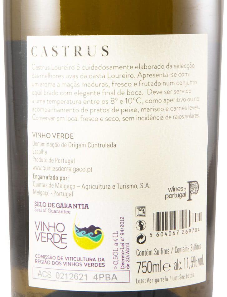 2019 Quintas de Melgaço Castrus Loureiro white