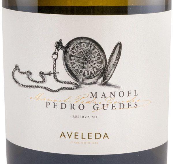 2018 Aveleda Manoel Pedro Guedes Reserva branco