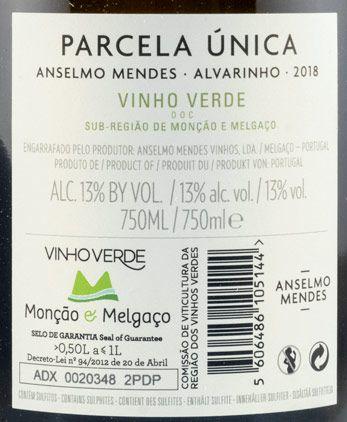 2018 Anselmo Mendes Parcela Única branco