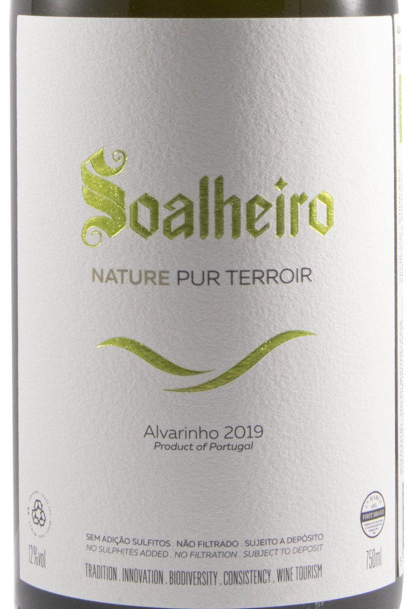 2019 Soalheiro Alvarinho Nature Pur Terroir biológico branco