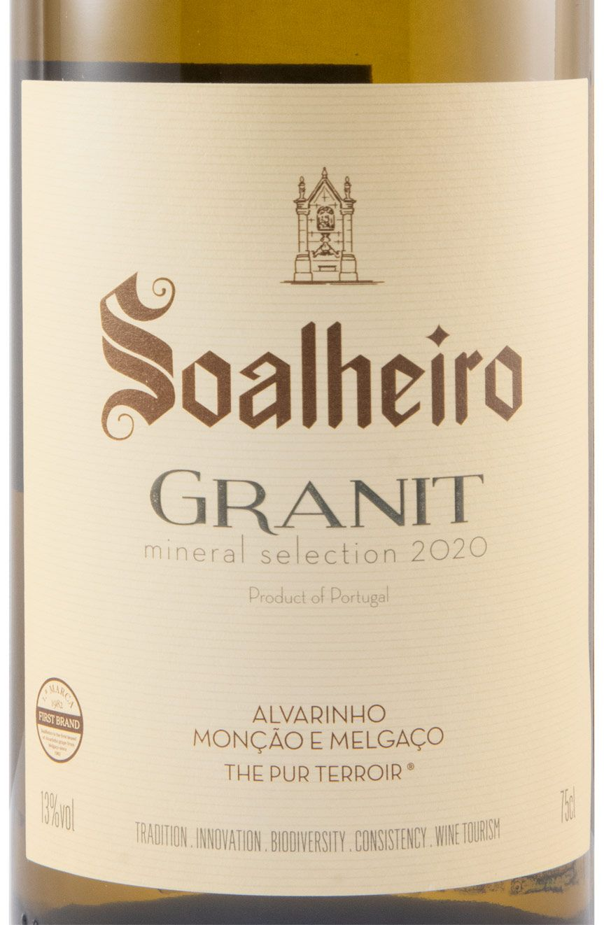 2020 Soalheiro Granit Alvarinho white