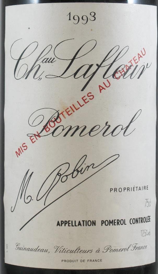 シャトー・ラフルール・ポムロール 赤 1993年