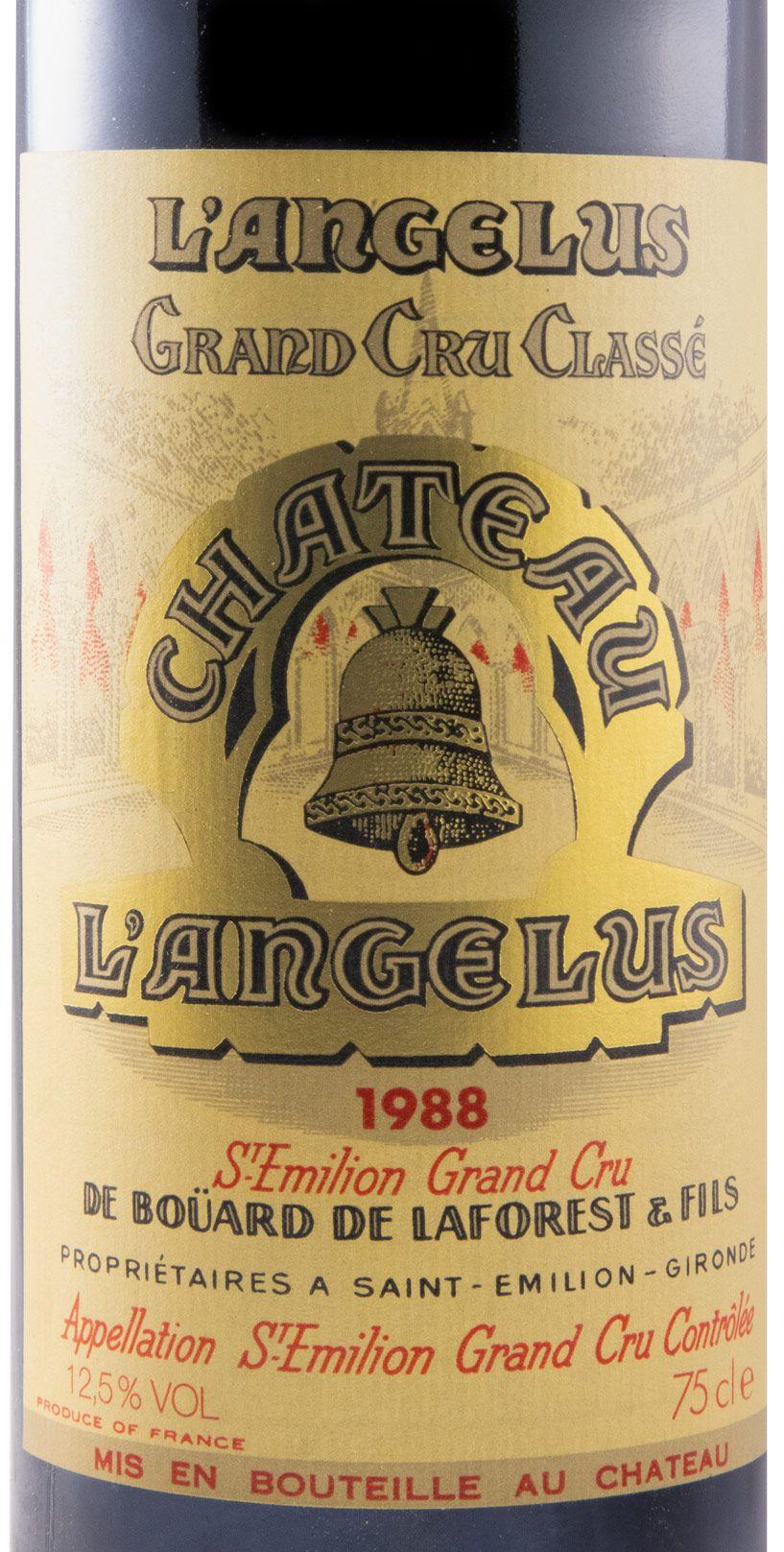 1988 Château Angélus Saint-Émilion red