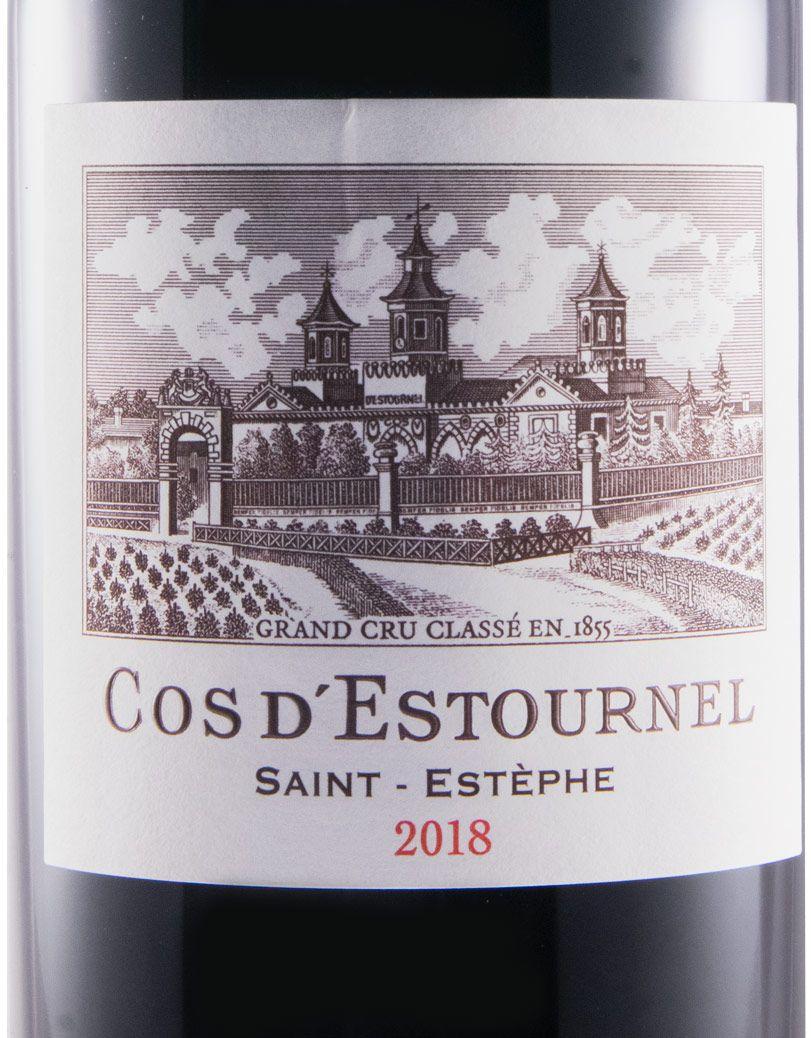 2018 Château Cos D'Estournel Saint-Estèphe red