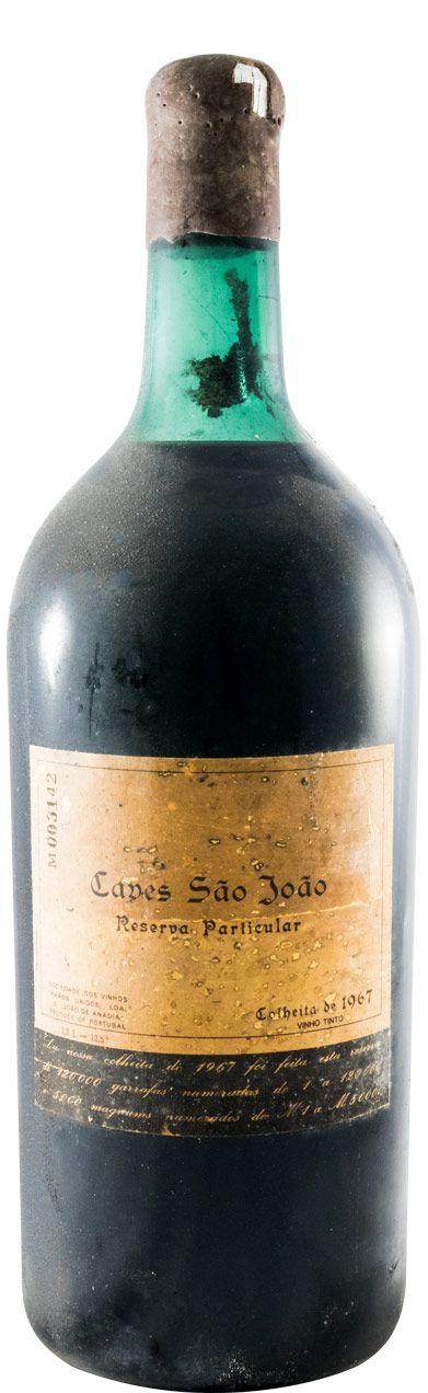 1967 Caves São João Reserva Particular tinto 1,5L