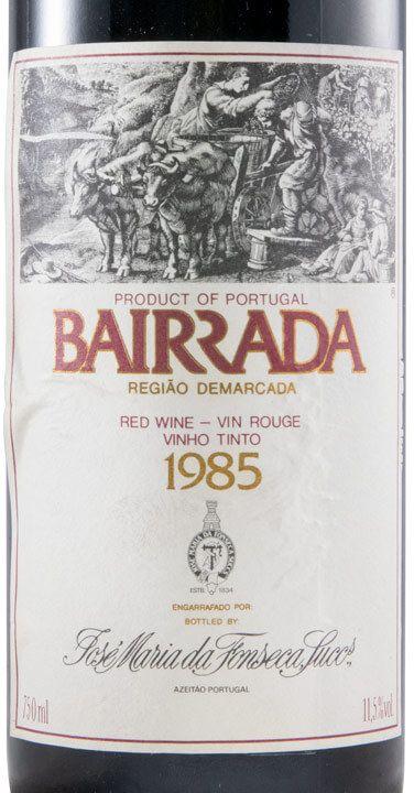 ジョゼ・マリア・ダ・フォンセカ・ガラフェイラ・赤・1985年