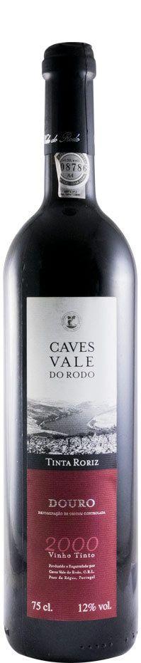 2000 Caves Vale do Rodo Tinta Roriz red