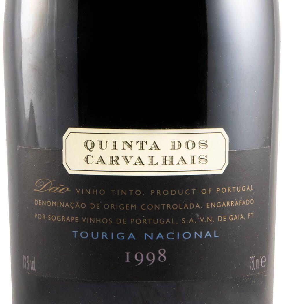 1998 Quinta dos Carvalhais Touriga Nacional red