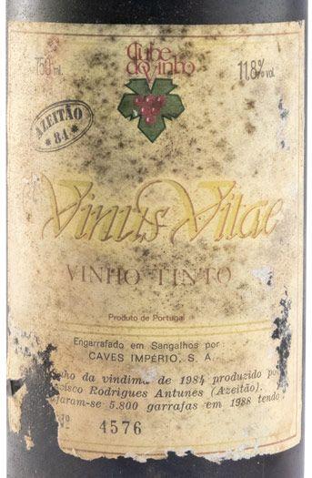 1984 Vinus Vitae Azeitão red
