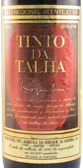 1995 Tinto da Talha red