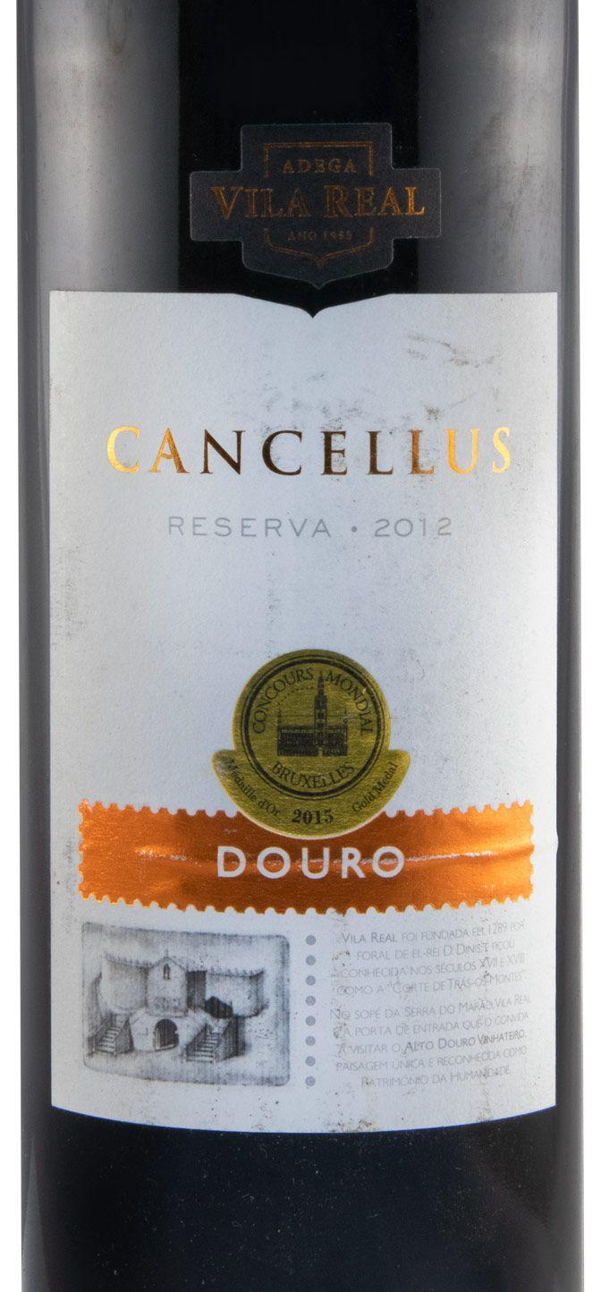 2012 Cancellus Reserva tinto