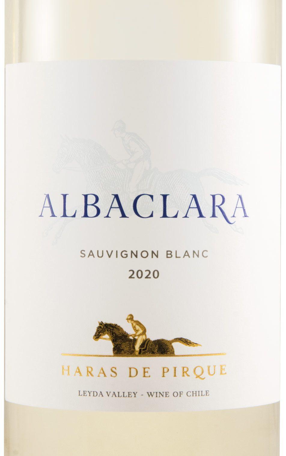 2020 Viña Haras de Pirque Albaclara Sauvignon Blanc branco