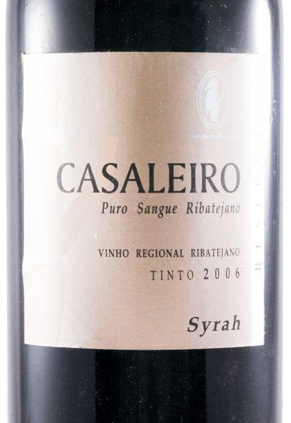 2006 Casaleiro Reserva Syrah tinto