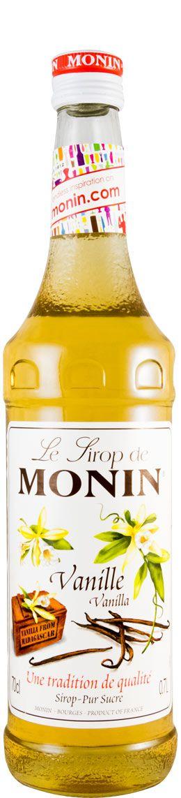 Syrup Vanille Monin Vanilla