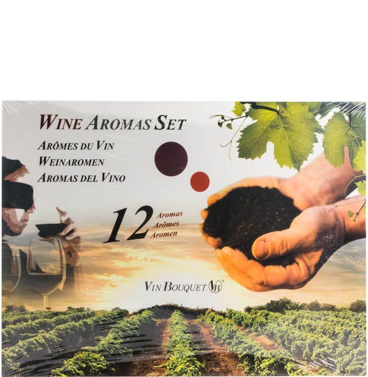 Conjunto Aromas Vinho
