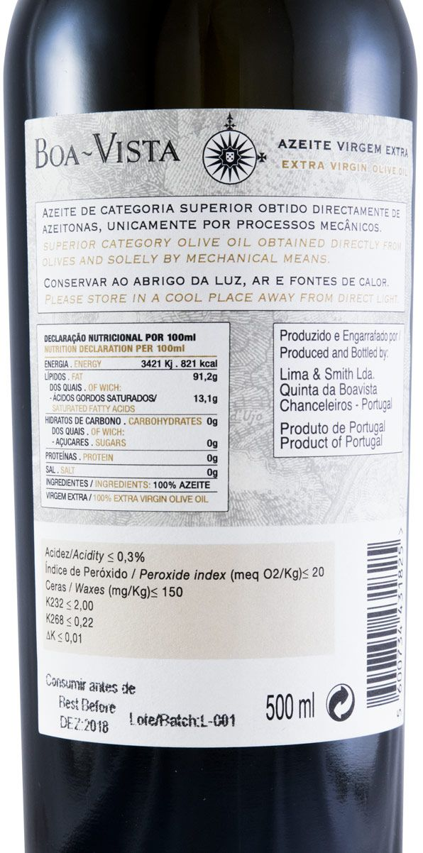 Azeite Quinta da Boavista Virgem Extra 50cl