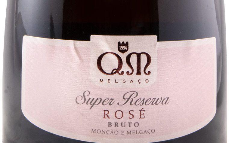 2017 Игристое Quintas de Melgaço QM Super Резерв розовое