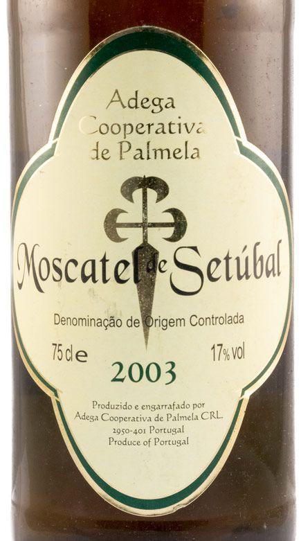 2003 Moscatel de Setúbal Adega Cooperativa de Palmela